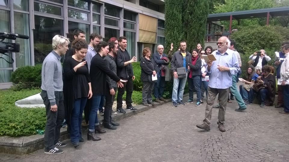 Attori alla Biblioteca Europea